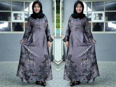 Gamis Batik Semi Sutra / Gamis Syar'i Simple