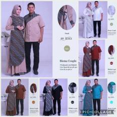 Jual Busana Muslim Sarimbit Gamis Couple Baju Pasangan Bisma Baru