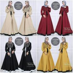 Gamis Busui / Baju Menyusui / Dress Hijab Murah : Louisa Dress