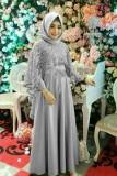 Spesifikasi Gamis Cantik Baloteli Dengan Cape Brukat Baju Pesta Party Dress Thiara Maxi Terbaru