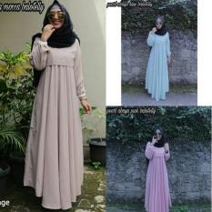 Gamis Cantik / Dress Pink / Baju Muslim Wanita Murah : Pearl Abaya