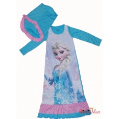 Disney Original - Baju Gamis Frozen (Blue)