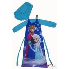 Disney Original - Baju Gamis Frozen Sisters II (Blue)