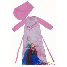 Disney Original - Baju Gamis Frozen Sisters (Pink)