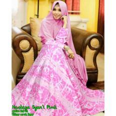 Spesifikasi Gamis Hasbiya Syar I Pink