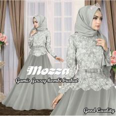 Rp 78.000 gamis hijab maxi MOZZA ABU tanpa pashminaIDR78000. Rp 111.993 legiONshop- busana muslim