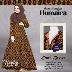 Gamis Humaira - Dark Brown