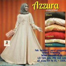 Gamis Jumbo XXL Azzura Baloteli Polos Umbrella Dress