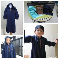 Gamis Koko Anak muslim Laki Laki Cowok Murah Simple Ganteng hoodie