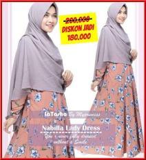 Gamis Latasha Nabilla Lady Dress - Baju Muslim Wanita Baju Muslimah