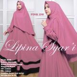 Toko Gamis Lipina Syari Balotelli Pink Dw Indonesia