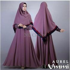 Gamis MTF Gamis Bergo Aurel Ummi Purple