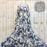 Jual Adzra Gamis Murah Syari Busana Muslim Wanita Denada Dress Biru Adzra Branded
