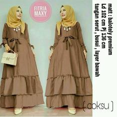 Gamis Muslim Syari Fashionable - Gamis Fitria Maxi