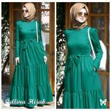 Beli Lf Dress Gamis Muslimah Eline Set Terusan Maxi Syari Syar I Simple Elegant Baju Muslim Wanita Kebaya Modern Llinace Ss Tosca D3C Cicilan