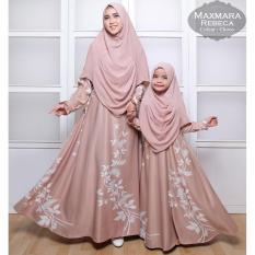 Gamis muslimah syar'i maxmara ibu dan anak rebeca. Couple