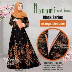 Harga Gamis Nanami Orange Blossom Termurah