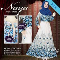 Gamis Naya - Blue