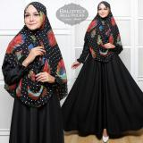 Toko Gamis Pakaian Wanita Muslimah Baju Muslim Dresses Jumpsuits Fashionable Gamis Syar I Balotelly Bulu Polka Black Online