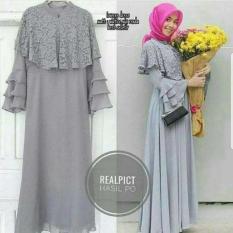 Gamis Pesta / Baju Kondangan / Dres Busui / Baju Hijab : Loveres Dress