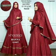 Gamis pesta - Gamis wanita - Baju gamis - Syari i muslim wanita - Baju muslim wanita terbaru busui - Maxi wanita busui - Promo - LT06