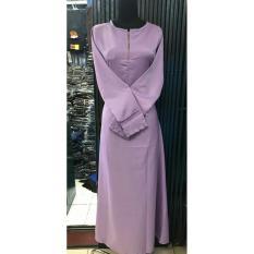 Gamis Polos Balotelli / Gamis Muslim Wanita Murah banyak variasi warna