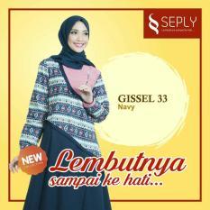 Gamis SEPLY Gissel33 Ukuran S-M Dan L