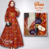 Review Pada Gamis Songket Hana Busui Respan Orange