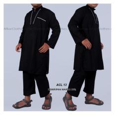 Gamis Stelan Muslim ikhwan Elegan - ACL13