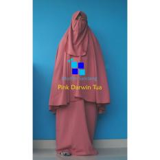Gamis Syar'i Ayuk Pink Darwin Tua