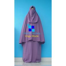 Harga Gamis Syar I Ayuk Ungu Muda Gamis Muslim Original