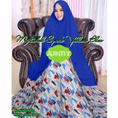 Toko Gamis Syar I Monalisa Miftahul Yellow Blue Online Terpercaya