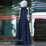 Spesifikasi Gamis Syari Murah Franda Dress Navy Gamis Muslim Baju Murah Murah Wanita Grosir Long Dress Lengkap Dengan Harga