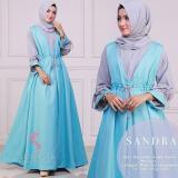 Harga Gamis Syari Murah Sandra Blue Gamis Muslim Baju Muslim Baju Murah Long Dress Dress Muslim Yang Bagus
