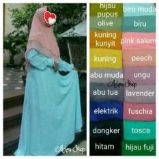 Adzra Gamis Syari Murah Busana Muslim Wanita Khanza Dress Di Indonesia