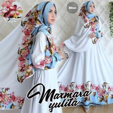 Gamis Syar I Yulita Blue Terbaru