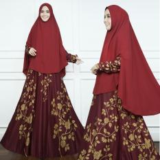 Jual Gamis Syarii Hijab Muslimah Cantik Plus Khimar Satu Set