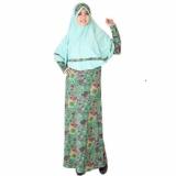 Jual Beli Online Fashion Gamis Syarii Muslim Kembang Gsr 007 Zetta Jumbo Murah