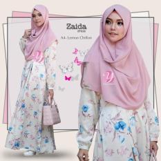 Gamis Yasmeera Zaida Dress A4 - Baju Muslim Wanita Baju Muslimah