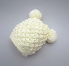 Ganda Bola Baru Nanas Bunga Gadis Topi Anak-Anak Sayang Topi (S + Putih Nanas Pullover)