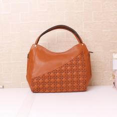 Gannise JB 10411 Yellow Brown Tas Wanita Import Korea Hongkong