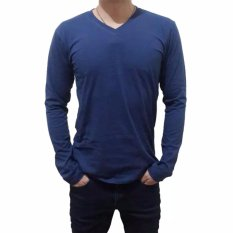 Jual Gap Kaos Essential V Neck Polos Navy Gap Online