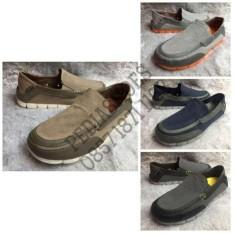 (Garansi Termurah) Sepatu Pria Crocs Stretch Sole Torino Original - C0ibvt