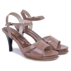 Jual Beli Gareu Shoes Sandal High Heels Tali Rir 5061 Sepatu Wanita Synth Camel
