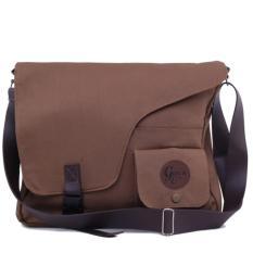 Montaza Tas Selempang Kanvas Laptop Sling Bag Vintage G Co Promo Beli 1 Gratis 1