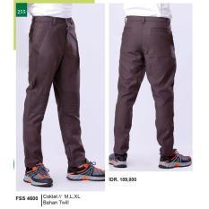 Spesifikasi Garsel Celana Kasual Panjang Pria Fss 4600 Dan Harganya