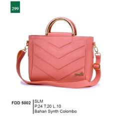 Garsel Fashion Fdd 5002 Tas Handbag Bisa Selempang Wanita-Synth Colombo-Keren (salem)