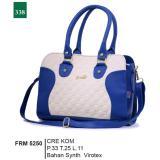 Jual Garsel Fashion Frm 5250 Tas Handbag Bisa Selempang Wanita Synth Virotex Menarik Cream Kombinasi Garsel Fashion Original