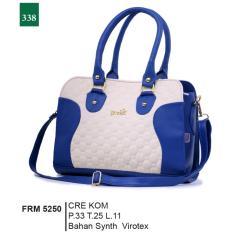 Garsel Fashion Frm 5250 Tas Handbag Bisa Selempang Wanita Synth Virotex Menarik Cream Kombinasi Jawa Barat