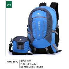 Beli Garsel Fashion Fro 5572 Tas Ransel 2In1 Pria Dolby Tawon Bagus Biru Kombinasi Nyicil